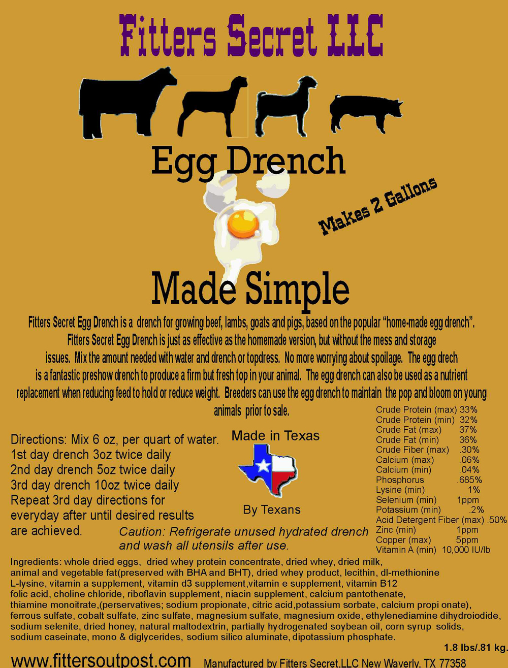 Egg Drench Made Simple